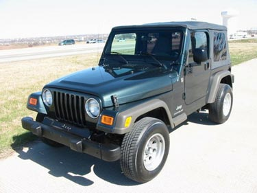 used jeep Wrangler DFW