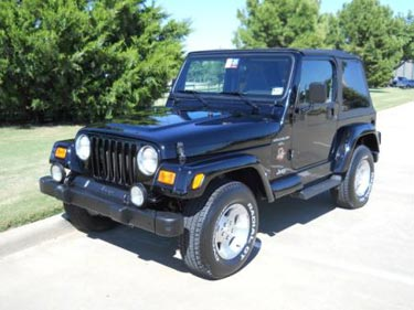 used jeep Wrangler Houston