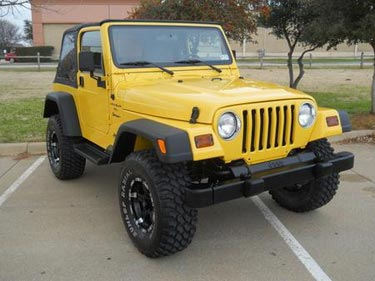 Used Jeep Wrangler for sale Amarillo